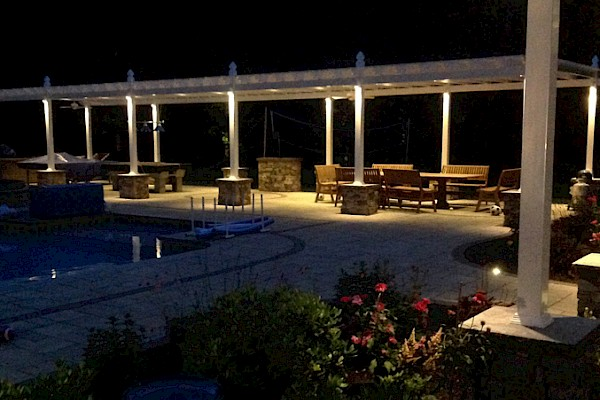 WE ILLUMINATE OUTDOOR LIVING SPACES