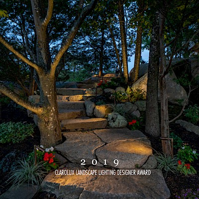 ClaroLux Landscape Lighting Designer Award of 2019